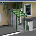 gCAD3D: Diseño de casas en 3D