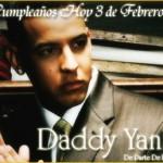 Felicita a Daddy Yankee por su Cumpleaños #34!