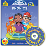 School Zone Phonics, grados 2-3. Fonética infantil en inglés