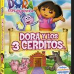 Dora la exploradora y los tres cerditos (2011) DVDRip Audio Latino