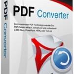 Wondershare PDF Converter 2.6.0.4, Convertidor de archivos PDF en Microsoft Word, Microsoft Excel, Microsoft PowerPoint, HTML, EPUB y documentos de texto