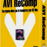 AVI ReComp v1.5.5 Multilenguaje (Español), Recomprime tus Archivos AVI
