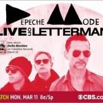 Depeche Mode – Live On Letterman (2013)