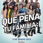 Qué pena tu familia [2012] [Dvdrip] Español Latino