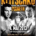 Wladimir Klitschko vs Francesco Pianeta HDTV [4th May 2013]