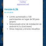 WhatsApp Plus 6.26C [Ultima Version] [Apk] [Android] [Mega]