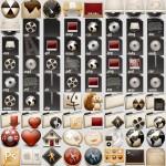 Paquete de Iconos en PNG Noviembre 2014 (Mega)