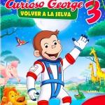 Descargar Jorge El Curioso 3: Volver A la Selva 2015 DvdRip Latino (Mega)
