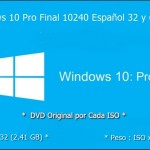 Descargar Windows 10 Pro Final (Full) (Español) (ISO) (32 y 64 Bits) (Mega)
