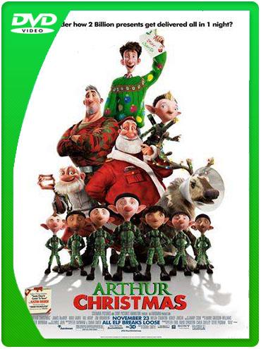 Descargar Arthur Christmas: Operación Regalo 2011 DvdRip latino (Mega)