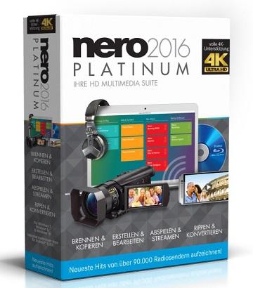 Nero 2016 Platinum (Multi) (+Patch) (MEGA)