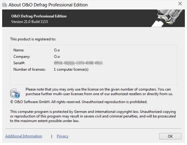 Descargar O&O Defrag Professional v21 Build 1115 (Mega)