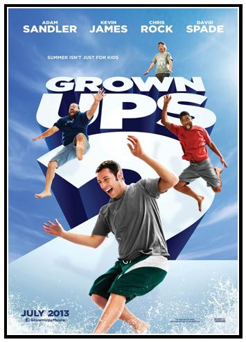Niños grandes 2 (Grown Ups 2) (2013) Español latino (Mega)