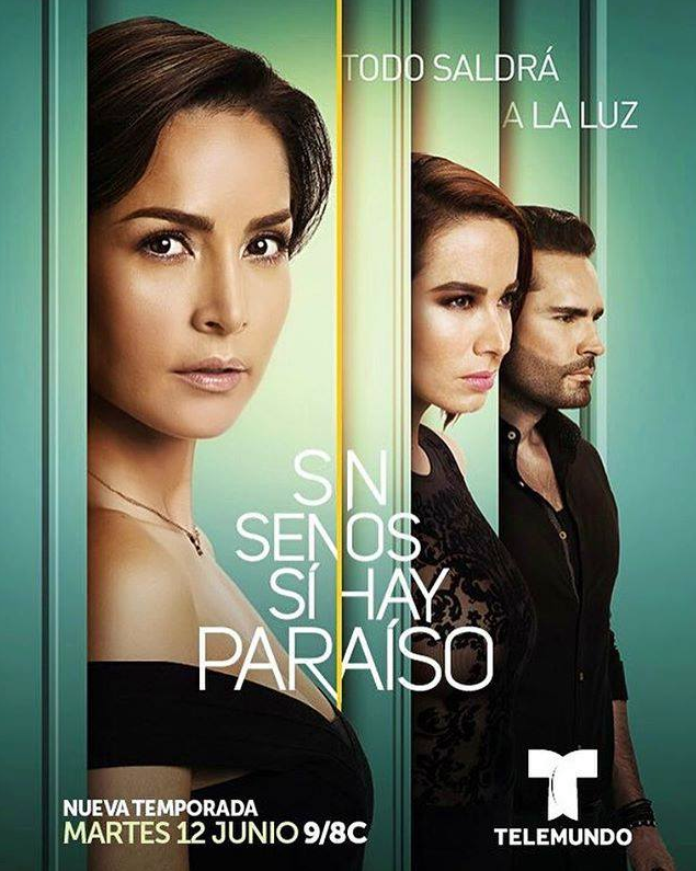 Descargar Sin Senos Si Hay Paraíso Temporada 3 2018 (Mega)