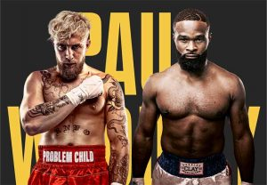 Ver Transmision en vivo Jake Paul vs Tyron Woodley (Online)